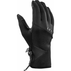 Lyžařské rukavice Leki Traverse Velikost rukavic: 7,5 / Barva: černá