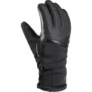 Dámské lyžařské rukavice Leki Snowfox 3D Lady Velikost rukavic: 7,5 / Barva: černá
