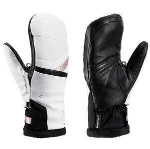 Dámské lyžařské rukavice Leki Snowfox 3D Lady Mitt Velikost rukavic: 6,5 / Barva: bílá