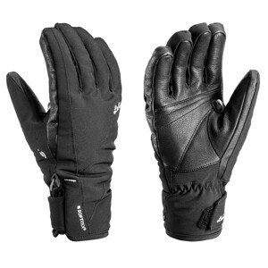 Dámské lyžařské rukavice Leki Cerro S Lady Velikost rukavic: 7 / Barva: černá