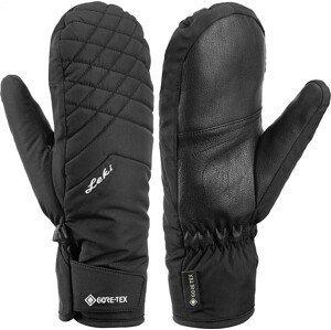 Dámské lyžařské rukavice Leki Sveia GTX Lady Mitt Velikost rukavic: 6,5 / Barva: černá