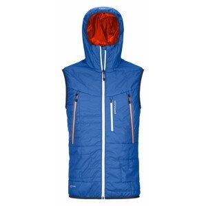 Pánská vesta Ortovox Swisswool Piz Boè Vest M Velikost: XL / Barva: modrá