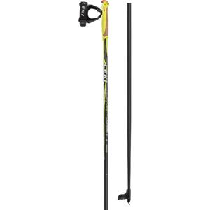 Běžecké hole Leki CC 300 Délka holí: 135 cm / Barva: černá/žlutá