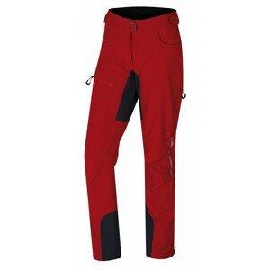 Dámské softshellové kalhoty Husky Keson L Velikost: XL / Barva: červená
