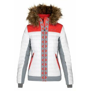 Dámská bunda Kilpi Taurel-W Velikost: L / Barva: bílá