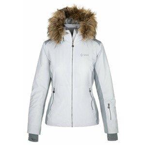 Dámská bunda Kilpi Malenay-W Velikost: L / Barva: bílá