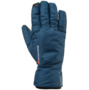 Dámské rukavice Montane Womens Prism Glove Velikost rukavic: L / Barva: modrá