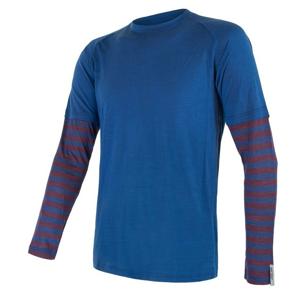 Pánské funkční triko Sensor Merino Air Pt Velikost: L / Barva: modrá