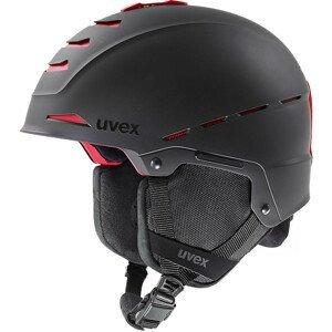 Lyžařská přilba Uvex Legend Pro Velikost helmy: 59-62 cm / Barva: černá/červená