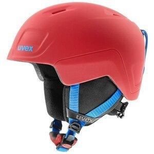 Dětská lyžařská přilba Uvex Heyya Pro Velikost helmy: 54–58 cm / Barva: červená