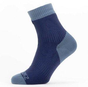 Ponožky SealSkinz WF Warm Weather Velikost ponožek: 43-46 / Barva: šedá/černá