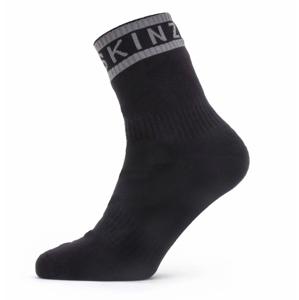 Ponožky SealSkinz WWW Ankle Length Sock with Hyd Velikost ponožek: 47-49 / Barva: černá