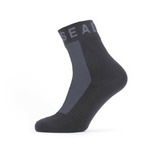 Nepromokavé ponožky SealSkinz WF All Weather Ankle Length Velikost ponožek: 36-38 / Barva: černá