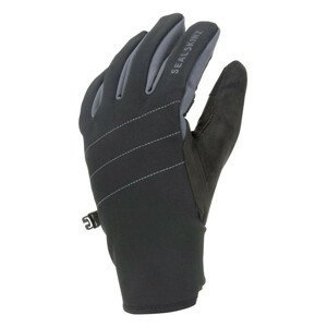 Rukavice SealSkinz WP All Weather with Fusion Control™ Velikost rukavic: S / Barva: černá/šedá