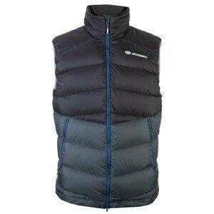 Pánská vesta Sir Joseph Ladak Man Vest Velikost: XL / Barva: černá/šedá