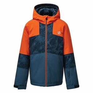 Dětská bunda Dare 2b Cavalier Velikost: 116 / Barva: oranžová/šedá
