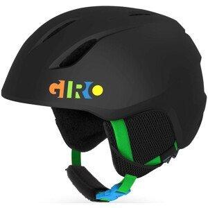 Dětská lyžařská přilba Giro Launch Mat Velikost helmy: 52-55,5 cm / Barva: černá