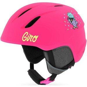 Dětská lyžařská přilba Giro Launch Mat Velikost helmy: 52-55,5 cm / Barva: růžová
