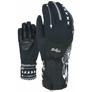 Dámské rukavice Level Bliss Emerald Gore-Tex Velikost rukavic: 7,5 / Barva: černá/bílá