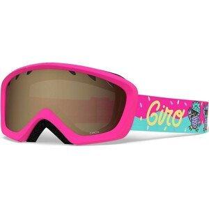 Dětské lyžařské brýle Giro Chico AR 40 Barva obrouček: růžová