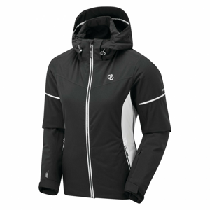 Dámská bunda Dare 2b Enclave Velikost: XL / Barva: černá/bílá