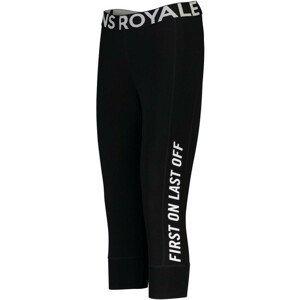 Dámské legíny Mons Royale Christy 3/4 Legging Velikost: S / Barva: černá