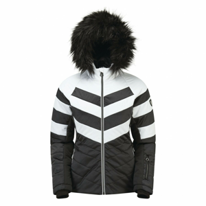 Dámská bunda Dare 2b Dazzling Velikost: XL / Barva: černá/bílá