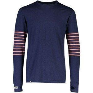 Pánské funkční triko Mons Royale Alta Tech LS Crew Velikost: L / Barva: modrá