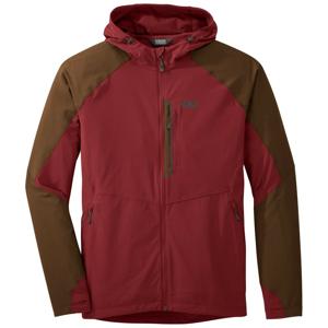 Pánská bunda Outdoor Research Ferrosi Hooded Jacket Velikost: XL / Barva: červená