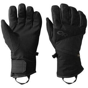 Pánské rukavice Outdoor Research Men's Centurion Gloves Velikost rukavic: L / Barva: černá
