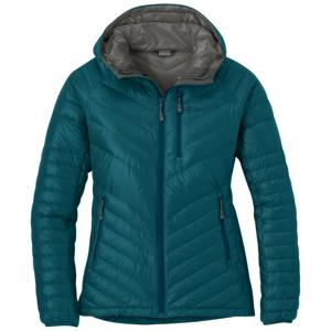 Dámská bunda Outdoor Research Illuminate Down Hoody Velikost: M / Barva: modrá