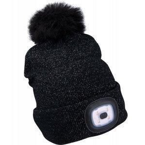 Dámská čepice s čelovkou Extol Light Barva: černá