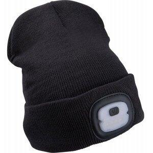 Čepice s čelovkou Extol Light Economy Barva: černá