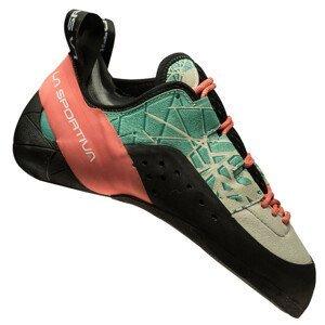 Dámské lezečky La Sportiva Kataki Woman Velikost bot (EU): 37,5 / Barva: šedá/zelená