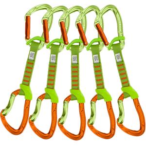 Set Expresek Climbing Technology 5x Nimble Fixbar Set NY 12cm Barva: zelená/oranžová