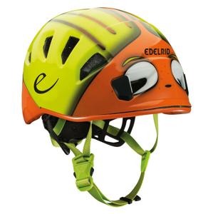 Dětská horolezecká helma Edelrid Kids Shield II Velikost helmy: 48–56 cm / Barva: žlutá/oranžová