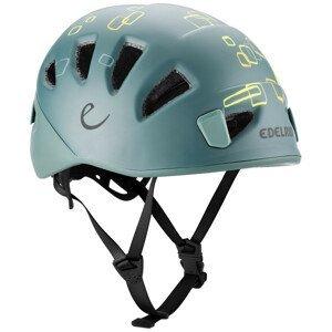 Dětská horolezecká helma Edelrid Kids Shield II Velikost helmy: 48-56 cm / Barva: šedá
