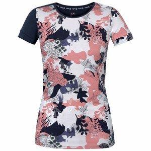 Dámské triko Rafiki Karin Velikost: L / Barva: bílá/růžová/modrá