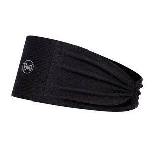 Čelenka Buff Coolnet UV+ Tapered Headband Barva: černá