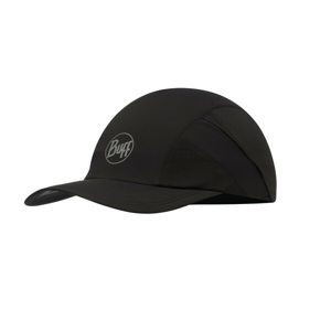 Kšiltovka Buff Pro Run Cap Solid Velikost: L/XL / Barva: černá