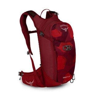 Pánský cyklistický batoh Osprey Siskin 12 II Barva: červená