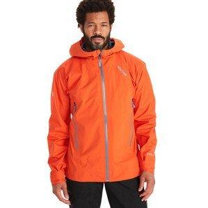 Pánská bunda Marmot Mitre Peak Jacket Velikost: XL / Barva: oranžová