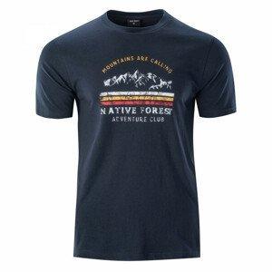 Pánské triko Hi-Tec Eron Velikost: XL / Barva: modrá
