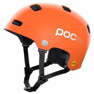 Dětská cyklistická přilba POC POCito Crane MIPS Velikost helmy: 55-58 cm / Barva: oranžová
