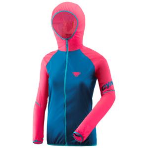 Dámská bunda Dynafit Alpine Wind 2 W Jkt Velikost: M / Barva: modrá/růžová