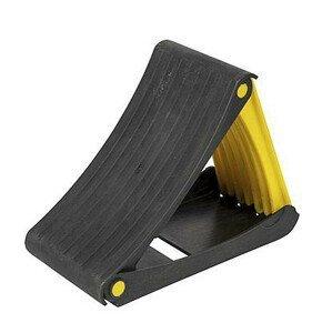 Skládací klín Bo-Camp Wheel block foldable Barva: černá/žlutá