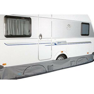Plachta Bo-Camp Caravan draught excluder Barva: šedá