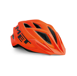 Cyklistická helma Met Crackerjack youth Barva: oranžová