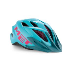 Cyklistická helma Met Crackerjack youth Barva: světle modrá