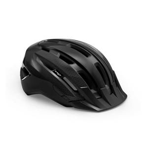 Cyklistická helma Met Downtown Barva: černá